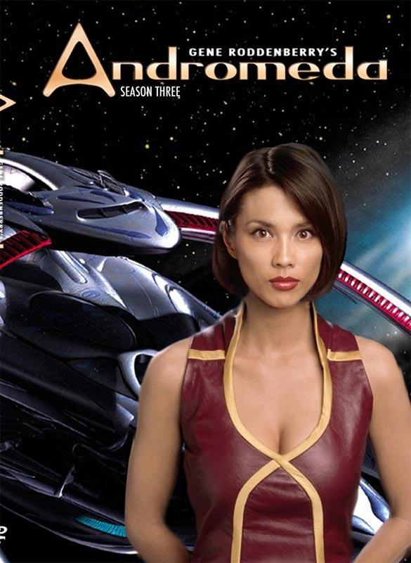 постер Третьего сезона Андромеда