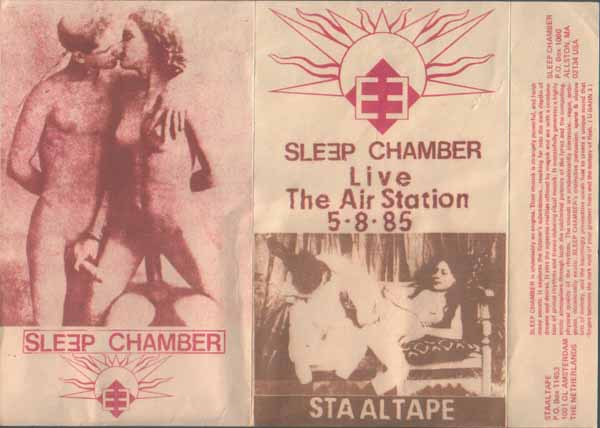 обложка   Live At The Air Station группы Sleep Chamber