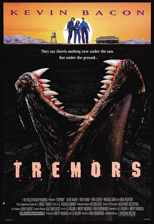 Tremors (1990) Дрожь земли, постер