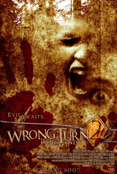 Wrong Turn 2: Dead End оригинальный постер