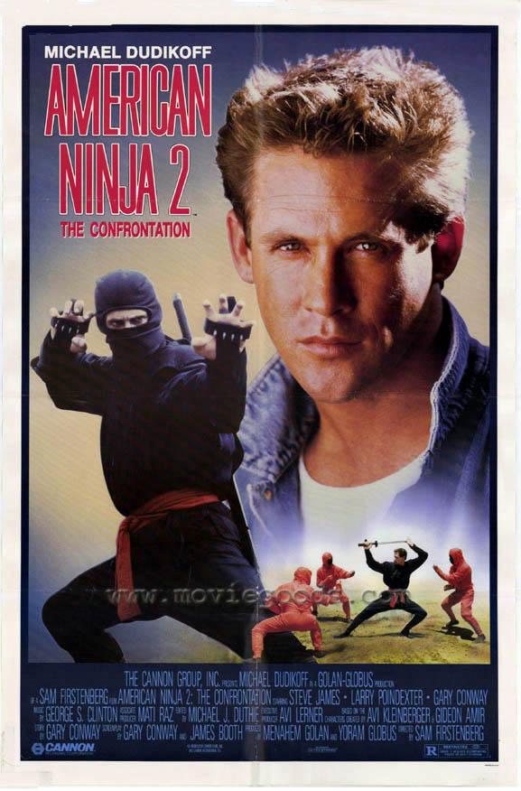 Американский ниндзя 2 - оригинальный постер