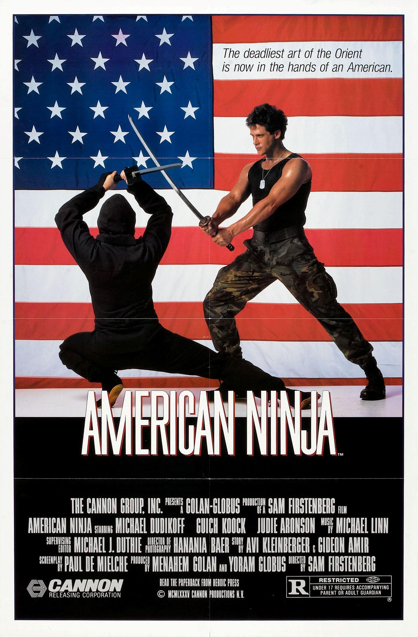 Американский ниндзя - оригинальный постер