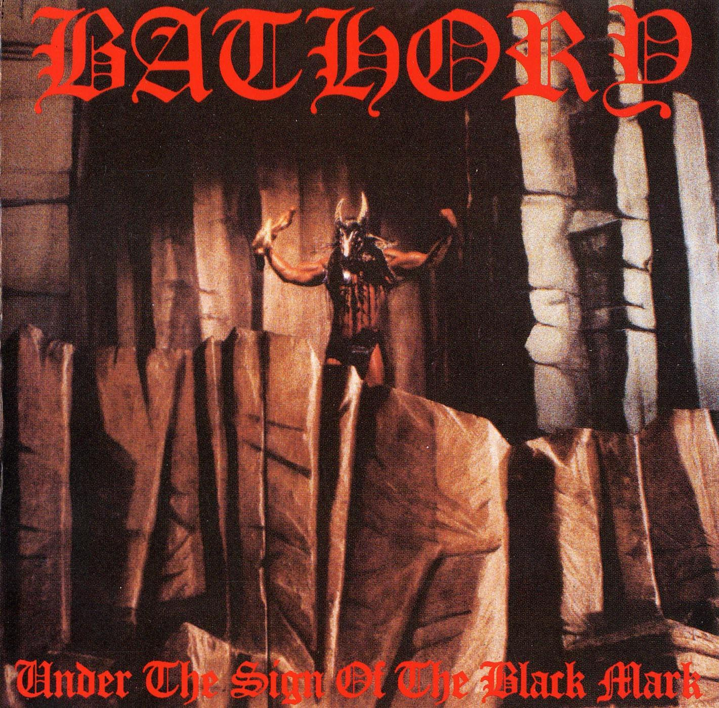 Bathory обложка альбома Under The Sign Of The Black Mark