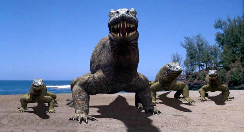 Что круче гиганской рептилии? Только много гиганских рептилий.