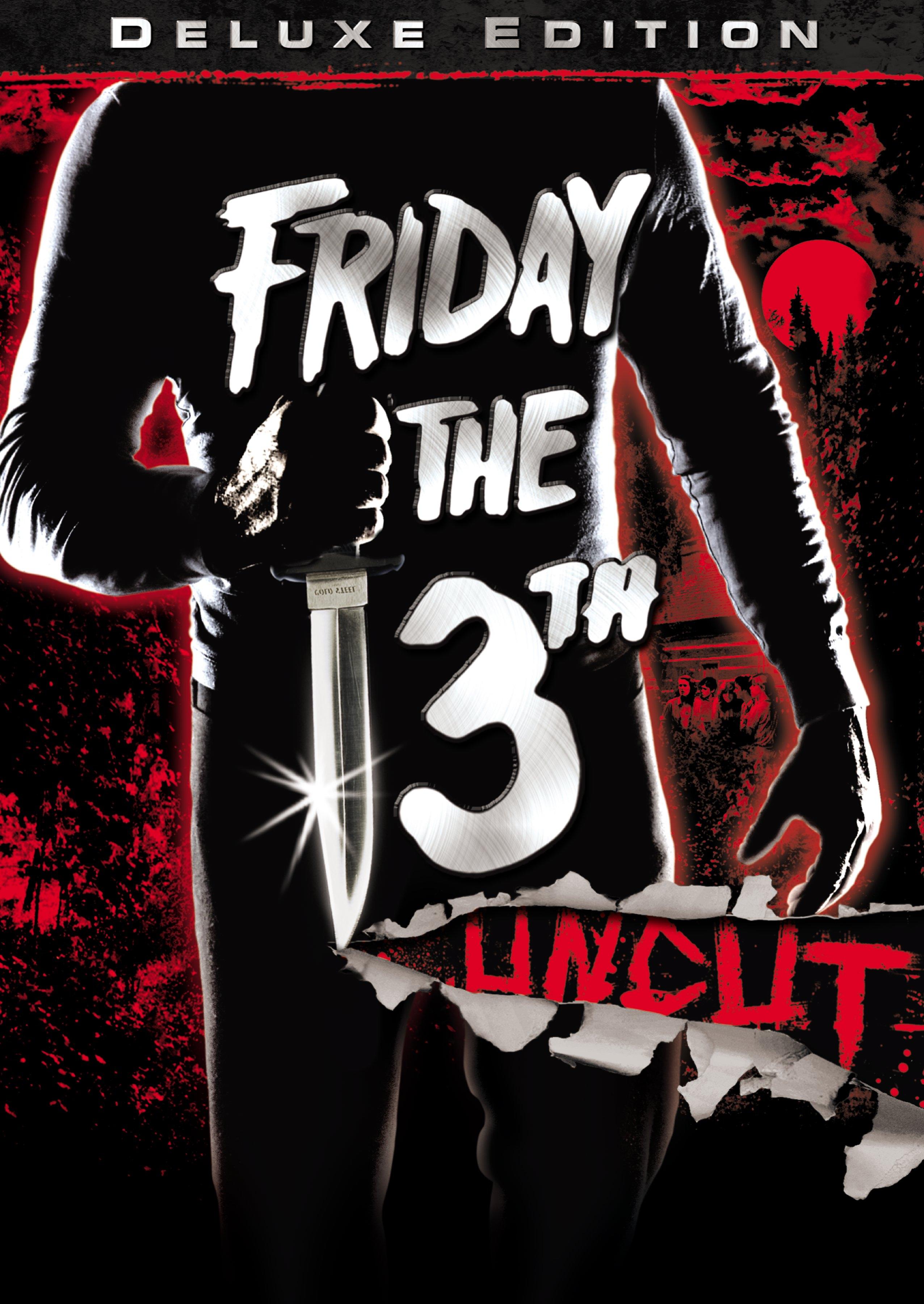 Пятница, 13-ое обложка dvd издания