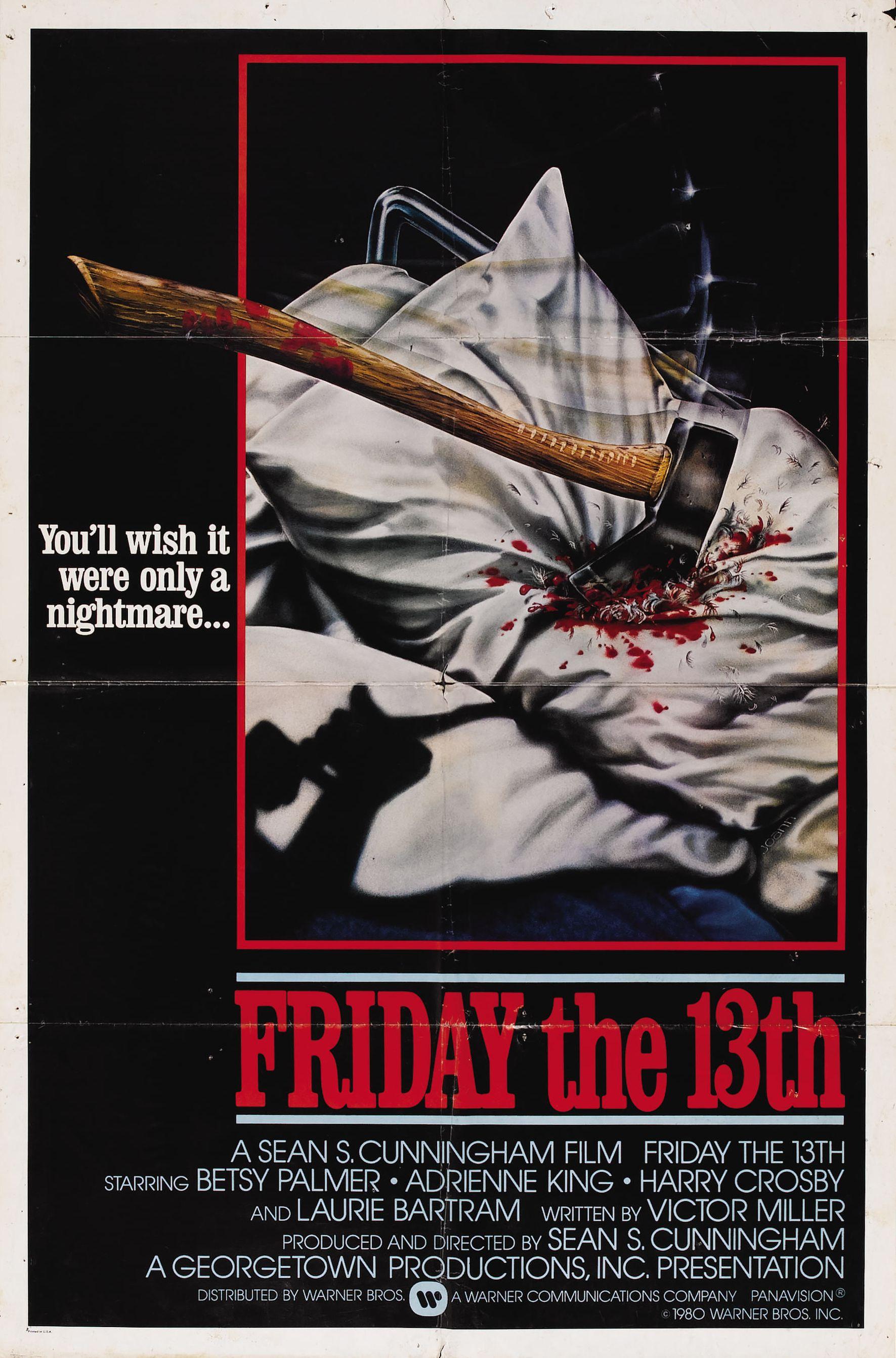 Пятница, 13-е оригинальный постер