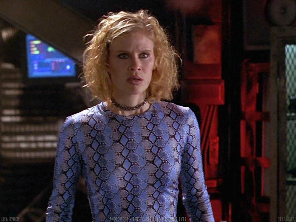 "Lisa Ryder из сериала ""Андромеда"""