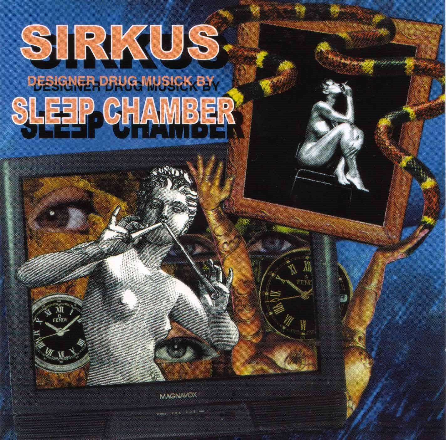 обложка альбома Sirkus группы Sleep Chamber