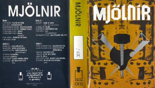 обложка сборника  Mjolnir